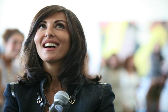 Sabrina Ferilli in un'immagine del film Tutta la vita davanti.