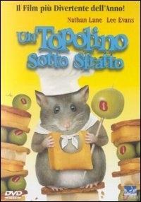 La copertina DVD di Un topolino sotto sfratto