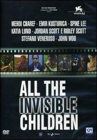 La copertina DVD di All the invisible children