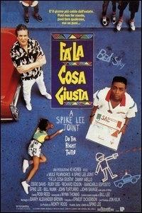 La copertina DVD di Fa' la cosa giusta - Do the right thing