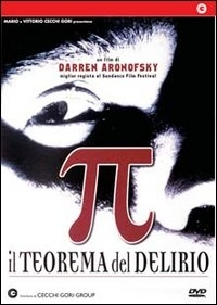 La copertina DVD di Pi Greco - Il Teorema Del Delirio