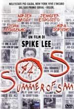 La copertina DVD di S.O.S. Summer of Sam - Panico a New York
