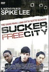 La copertina DVD di Sucker free city