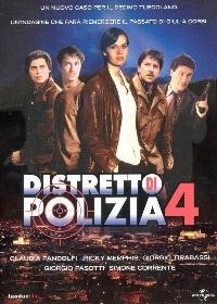 La copertina DVD di Distretto di Polizia - Stagione 4