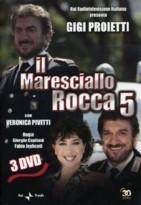 La copertina DVD di Il Maresciallo Rocca - Stagione 5