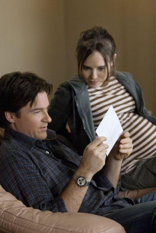 Ellen Page e Jason Bateman in una sequenza del film Juno