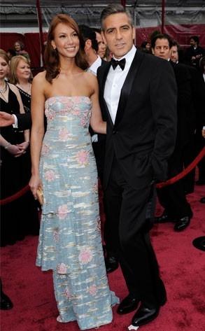 George Clooney sul red carpet degli 80° Academy Awards.
