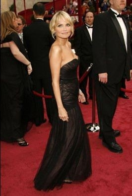Kristin Chenoweth sul tappeto rosso degli 80° Academy Awards.