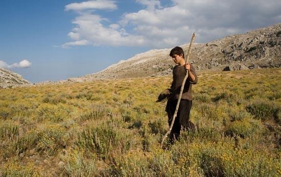 Una scena del film Sonetàula