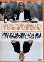 La copertina DVD di Le cinque variazioni