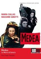 La copertina DVD di Medea