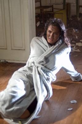 Shannyn Sossamon in una sequenza dell'horror Chiamata senza risposta