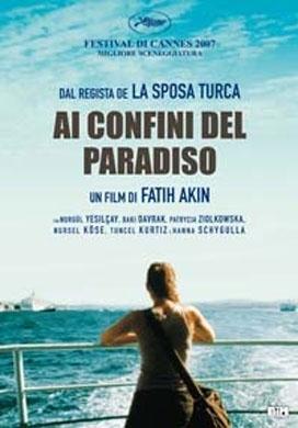 La copertina DVD di Ai confini del paradiso