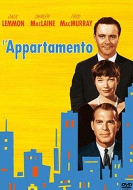 La copertina DVD di L'appartamento