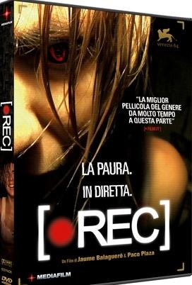 La copertina DVD di Rec