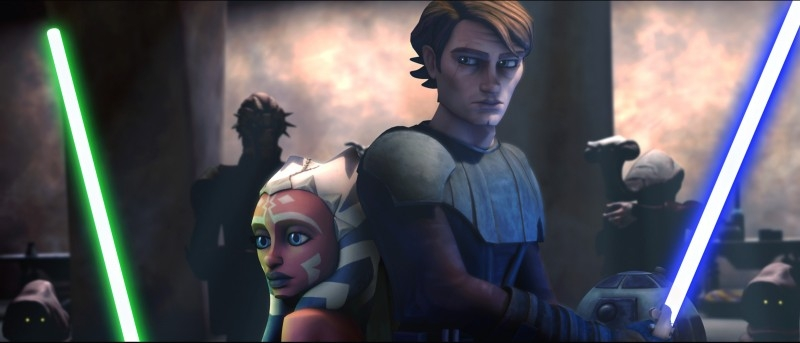 Una sequenza di The Clone Wars