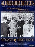 La copertina DVD di Giovane e innocente