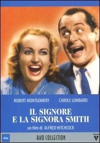La copertina DVD di Il signore e la signora Smith