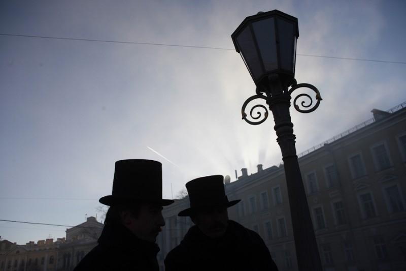 Una sequenza del film I demoni di San Pietroburgo.
