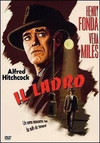 La copertina DVD di Il ladro
