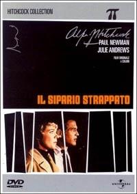 La copertina DVD di Il sipario strappato
