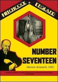 La copertina DVD di Number Seventeen - Numero diciassette