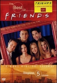 La copertina DVD di The best of Friends - stagione 5
