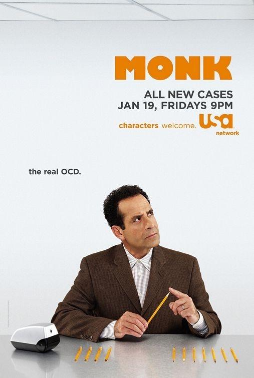 una locandina di Monk
