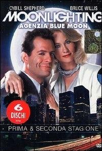 La copertina DVD di Moonlighting - Agenzia Blue Moon - Stagione 1 & 2