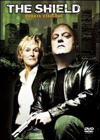 La copertina DVD di The Shield - Stagione 4