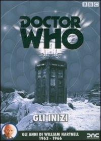 La copertina DVD di Doctor Who - Gli inizi