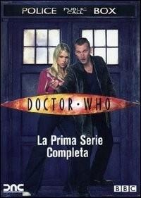 La copertina DVD di Doctor Who - Stagione 1