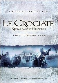 La copertina DVD di Le Crociate - Director's Cut