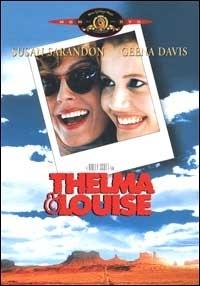 La copertina DVD di Thelma & Louise