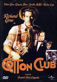 La copertina DVD di Cotton Club