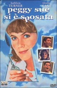 La copertina DVD di Peggy Sue si è sposata