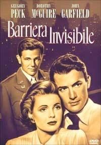 La copertina DVD di Barriera invisibile