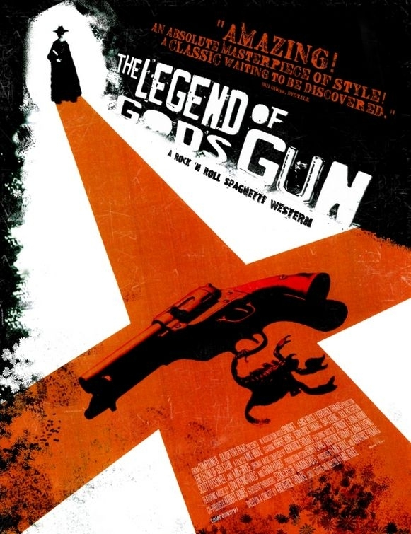 La locandina di The Legend of God's Gun