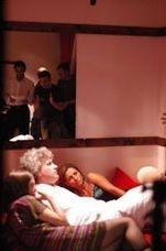 Una scena del film Una notte, diretto da Toni D'Angelo