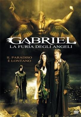 La copertina DVD di Gabriel - La furia degli angeli