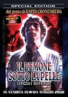 La copertina DVD di Il demone sotto la pelle - Special Edition