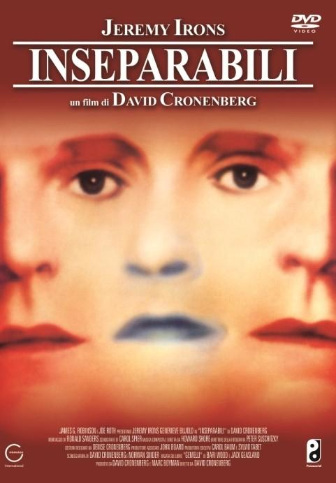 La copertina DVD di Inseparabili