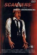 La copertina DVD di Scanners
