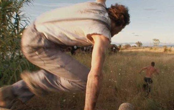 Una sequenza del film Cover-Boy