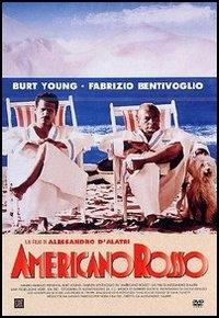 La copertina DVD di Americano rosso