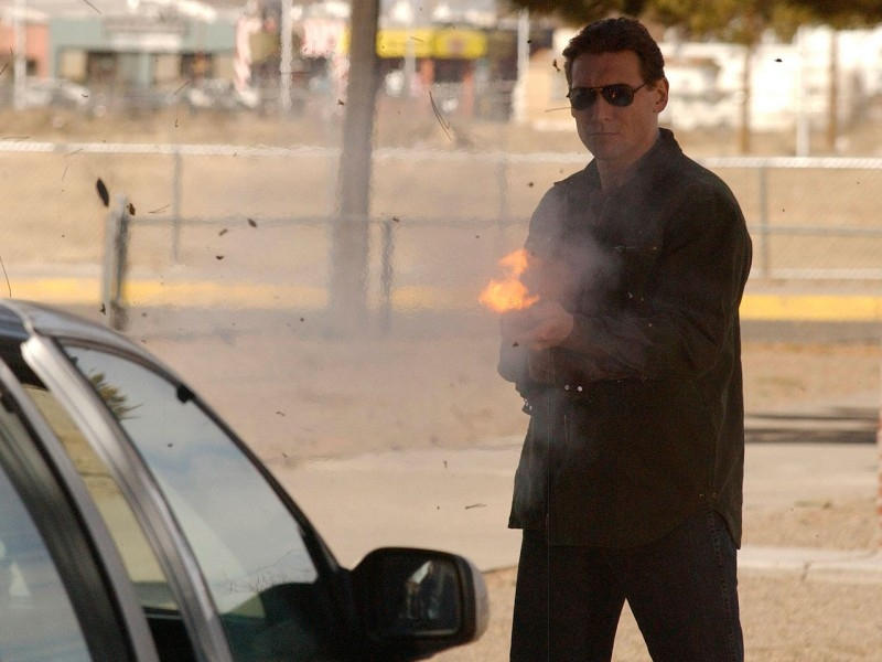 Aaron James Cash in azione in Sarah Connor Chronicles