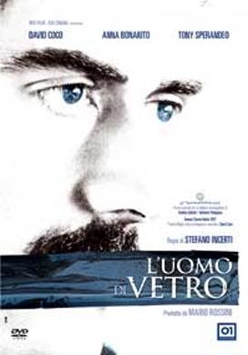 La copertina DVD di L'uomo di vetro