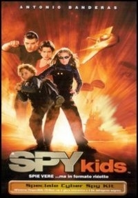 La copertina DVD di Spy Kids