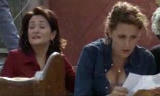 Veronica Mazza in una sequenza di Ci sta un francese, un inglese e un napoletano