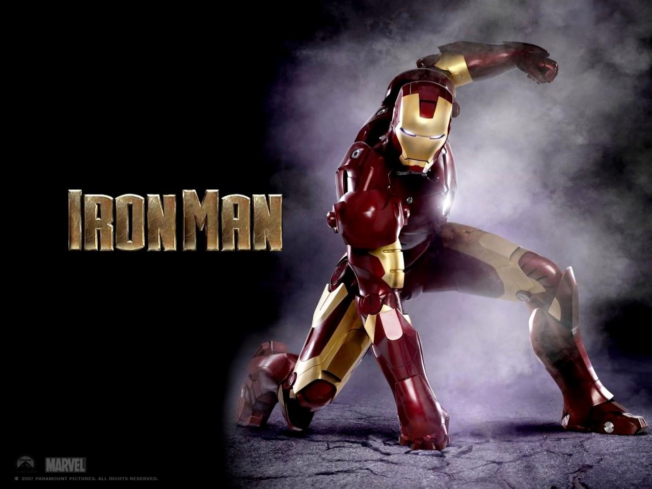 Un wallpaper del film Iron Man